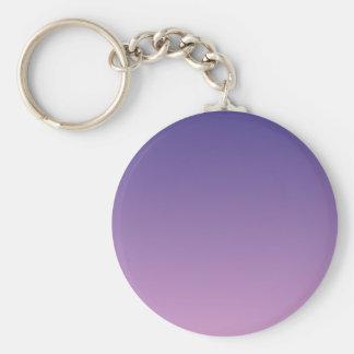 Dark Slate Blue to Light Medium Orchid H Gradient Key Chain