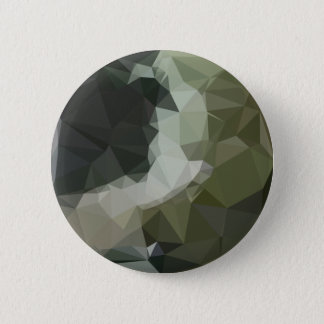 Dark Slate Gray Abstract Low Polygon Background Button