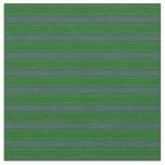 [ Thumbnail: Dark Slate Gray and Dark Green Colored Pattern Fabric ]