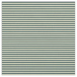 [ Thumbnail: Dark Slate Gray and Pale Goldenrod Lined Pattern Fabric ]