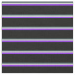 [ Thumbnail: Dark Slate Gray, Light Gray, Purple, and Black Fabric ]