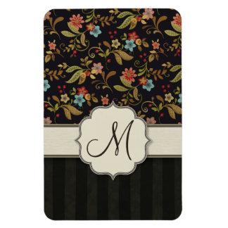 Dark Slavic Style Floral Vinyl Magnets