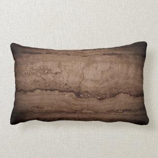 Dark Smokey grey Granite Lumbar Pillow