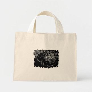 Dark Smoking Car Artwork Bag