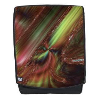 Dark Smudge Fractal Backpack