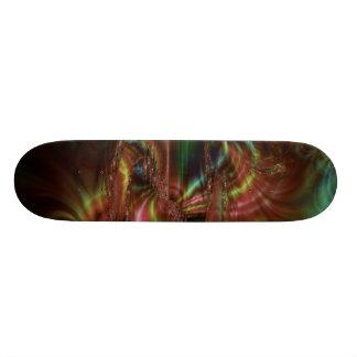 Dark Smudge Fractal Skateboard