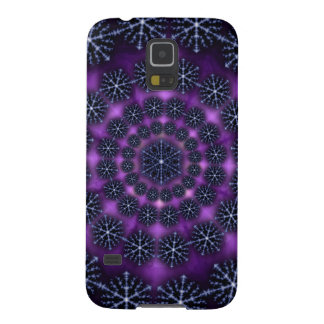 Dark Snow Flake Wheel Samsung Galaxy S5 case