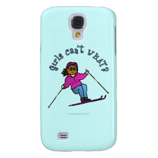 Dark Snow Skier Samsung Galaxy S4 Cover