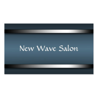 Dark Sophisticated Blue Appointment Cards Business Card