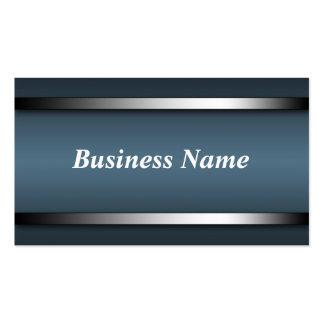 Dark Sophisticated Blue business cards