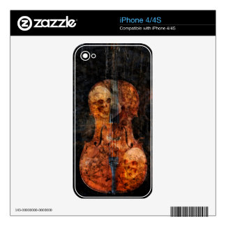 Dark soul cello decal for the iPhone 4S