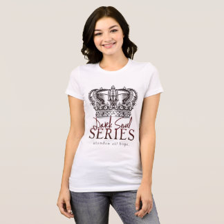 Dark Soul #DemonsDen Women's T-shirt in White