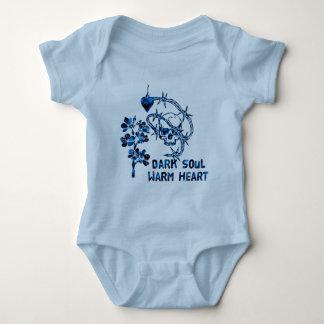 Dark Soul Skull Baby Bodysuit
