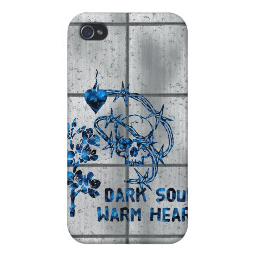 Dark Soul Skull Covers For iPhone 4