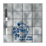 Dark Soul Skull Dry Erase Whiteboard