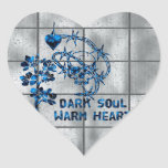 Dark Soul Skull Stickers