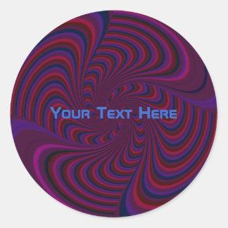 Dark Spinning Top Stickers