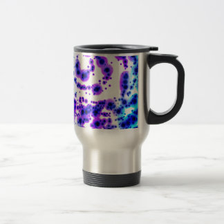 Dark Spiral Dream Spots Travel Mug