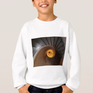 Dark Spiral Stairs Photo Sweatshirt