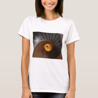 Dark Spiral Stairs Photo T-Shirt