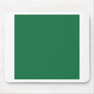 Dark Spring Green Mouse Pads