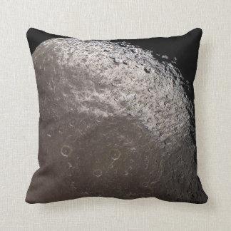 Dark-stained Iapetus Pillow