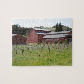 Dark Star Cellars Winery in Paso Robles, CA Jigsaw Puzzle