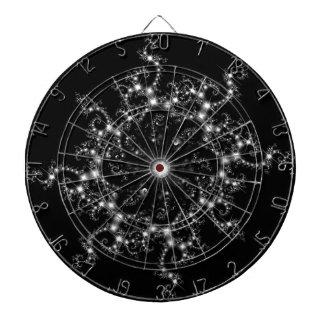Dark Star Goth Fractal Dartboard