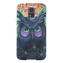 Dark Star Owl Galaxy S5 Cover