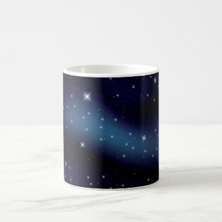 Dark Starry Constellation Coffee Mug