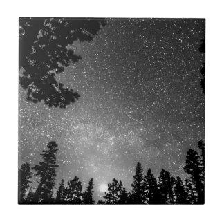 Dark Stellar Universe Ceramic Tile