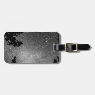 Dark Stellar Universe Luggage Tag