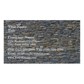 Dark Stone Wall Detail Business Card