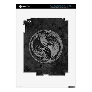 Dark Stone Yin Yang Scorpions iPad 3 Decals