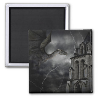 Dark stormy night magnet magnet