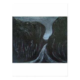 Dark Street (dark symbolism) Postcard