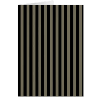 Dark Stripes Card