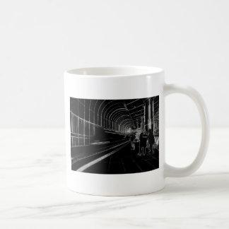 Dark Subway Coffee Mugs