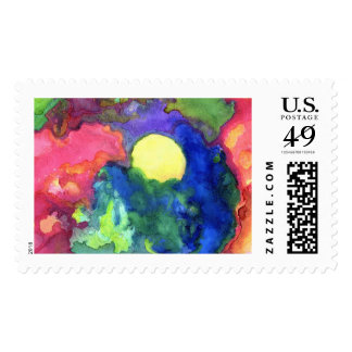 Dark Sunrise Postage