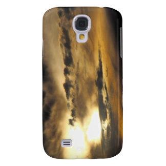 Dark sunset galaxy s4 cover