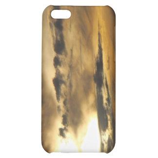 Dark sunset iPhone 5C cases
