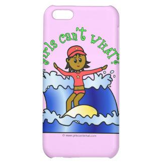 Dark Surfer Girl Case For iPhone 5C