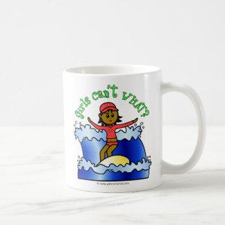 Dark Surfer Girl Coffee Mug