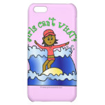 Dark Surfer Girl Cover For iPhone 5C