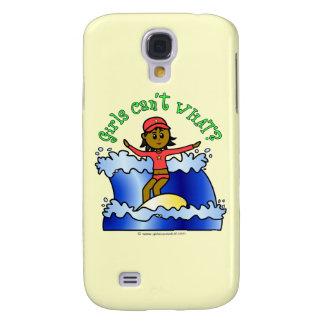 Dark Surfer Girl Samsung Galaxy S4 Cover