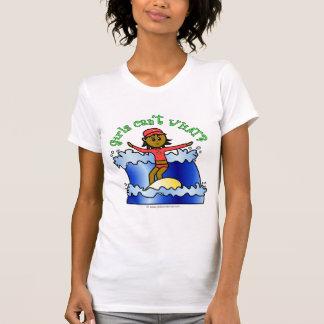 Dark Surfer Girl T Shirt