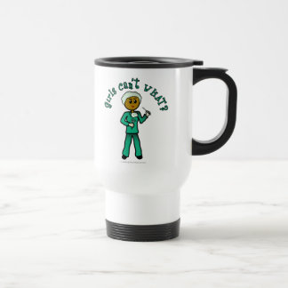 Dark Surgeon Girl Travel Mug