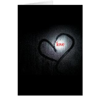 Dark Sweet Love Card
