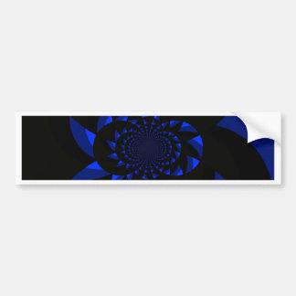 Dark Swirl Bumper Sticker