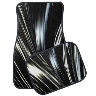 Dark Swirl Car Mat